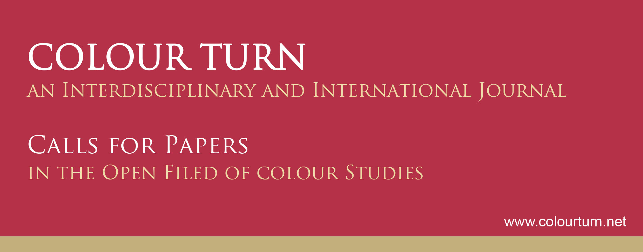 Peer-reviewed journal COLOUR TURN – Call for Papers « Deutsches ...